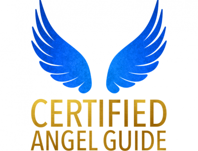 Certified Angel Guide Logo - Teresha Website